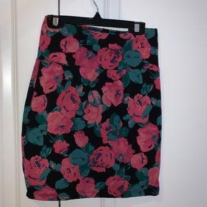 Aritzia Skirts - Floral Skirt, Aritzia, Size S